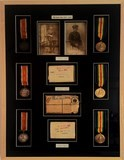1st World War Medals in flating moutn and UV conservation glass